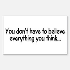 You don't have to believe Decal