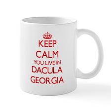 Keep calm you live in Dacula Georgia Mugs