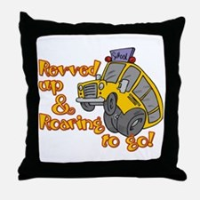 Revved Up! Throw Pillow