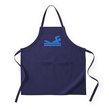 Blue Swimmer Apron (dark)