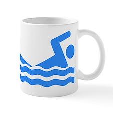 Blue Swimmer Mugs