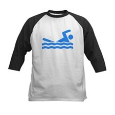Blue Swimmer Baseball Jersey