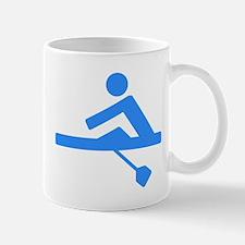Blue Rower Mugs
