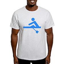 Blue Rower T-Shirt