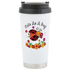 Ladybug Cute As A Bug Travel Mug
