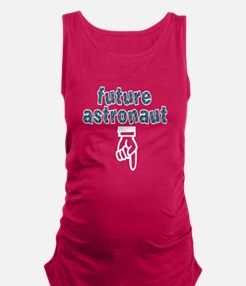 Future astronaut - Maternity Tank Top