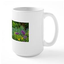 Lush green summer garden Mugs