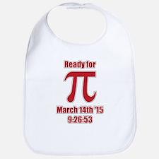 Math Humor Pi Bib
