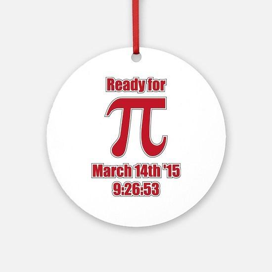 Math Humor Pi Ornament (Round)