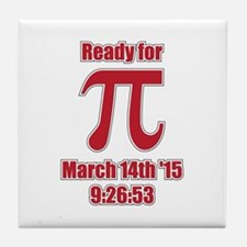 Math Humor Pi Tile Coaster