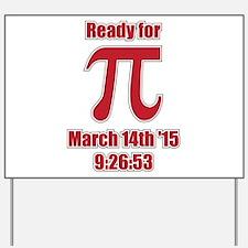 Math Humor Pi Yard Sign