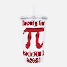 Math Humor Pi Acrylic Double-wall Tumbler
