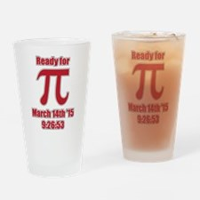 Math Humor Pi Drinking Glass