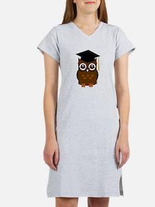 Graduation Owl Women's Nightshirt