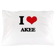 I Love Akee ( Food ) Pillow Case