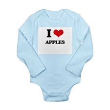 I Love Apples ( Food ) Body Suit