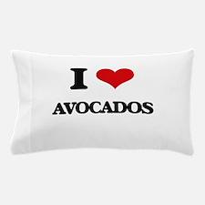 I Love Avocados ( Food ) Pillow Case