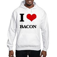 I Love Bacon ( Food ) Hoodie