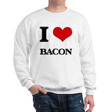 I Love Bacon ( Food ) Sweatshirt