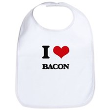 I Love Bacon ( Food ) Bib