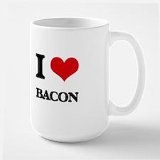I Love Bacon ( Food ) Mugs