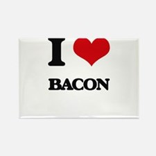 I Love Bacon ( Food ) Magnets