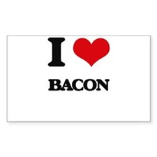 I Love Bacon ( Food ) Decal