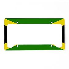 Jamaican Flag License Plate Holder