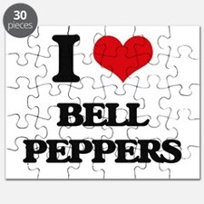 I Love Bell Peppers ( Food ) Puzzle