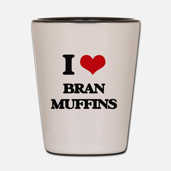Unique I heart muffins Shot Glass