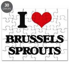 I Love Brussels Sprouts ( Food ) Puzzle