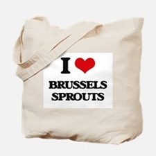 I Love Brussels Sprouts ( Food ) Tote Bag