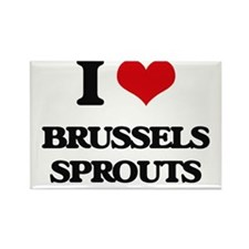 I Love Brussels Sprouts ( Food ) Magnets