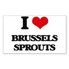 I Love Brussels Sprouts ( Food ) Decal