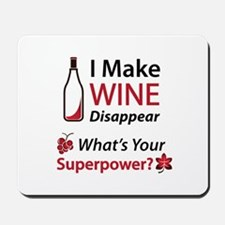 Wine Disappear Mousepad