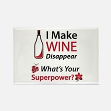 Wine Disappear Rectangle Magnet Magnets