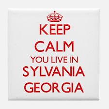 Keep calm you live in Sylvania Georgi Tile Coaster