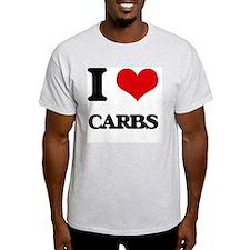 I Love Carbs ( Food ) T-Shirt