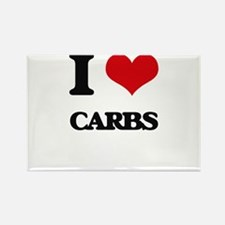 I Love Carbs ( Food ) Magnets