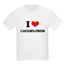 I Love Cauliflower ( Food ) T-Shirt