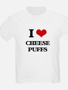 I Love Cheese Puffs ( Food ) T-Shirt