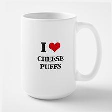 I Love Cheese Puffs ( Food ) Mugs