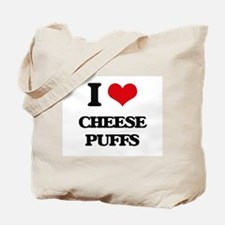 I Love Cheese Puffs ( Food ) Tote Bag