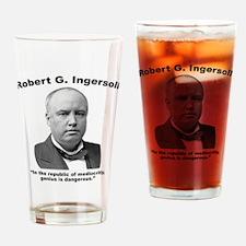 Ingersoll: Genius Drinking Glass