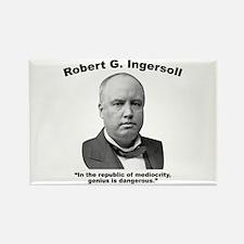 Ingersoll: Genius Rectangle Magnet