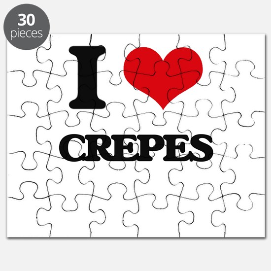 I Love Crepes ( Food ) Puzzle