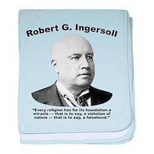 Ingersoll: Falsehood baby blanket
