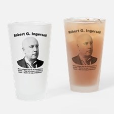 Ingersoll: Falsehood Drinking Glass
