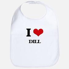 I Love Dill ( Food ) Bib