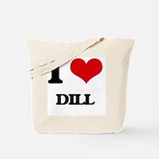 I Love Dill ( Food ) Tote Bag